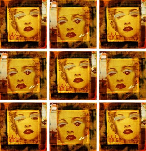 Manifesto Madonna Los Angeles