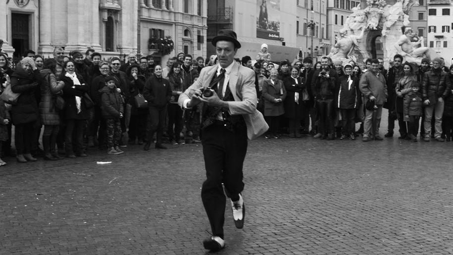 Clown Piazza Navona